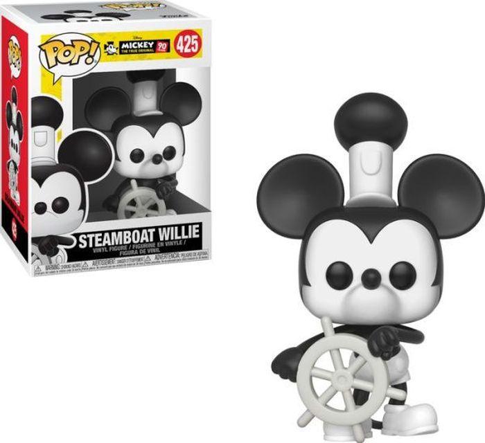 Фигурка Funko POP! Vinyl: Disney: Mickey's 90th: Steamboat Willie 32182 цена и фото