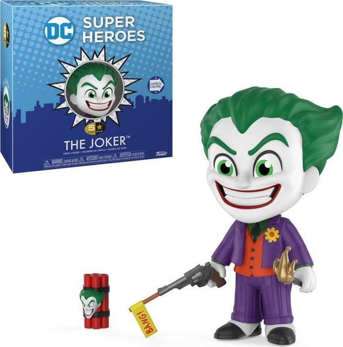 Фигурка Funko Vinyl Figure: 5 Star: DC Classic: The Joker 32653 1 6 scale figure doll clothes male batman joker suit for 12 action figure doll accessories not include doll and other 1584