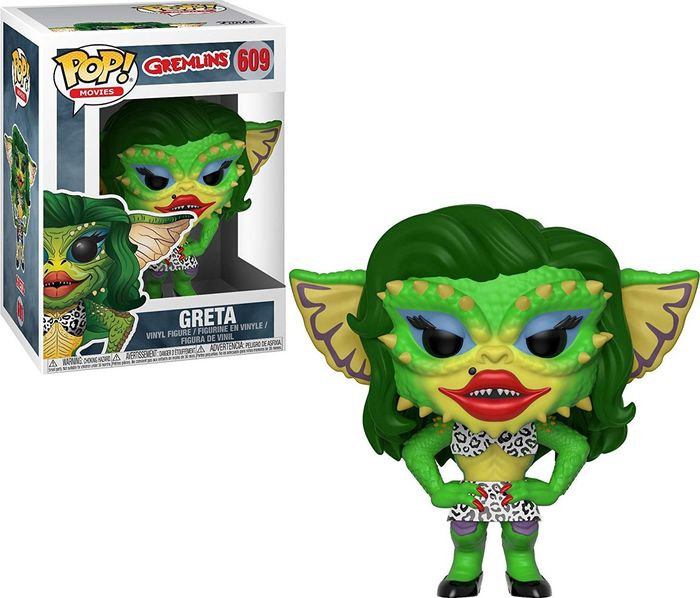 Фигурка Funko POP! Vinyl: Horror: Gremlins 2: Drag Gremlin 32348 imperfect funko pop second hand horror movies evil dead 2 ash with saw vinyl action figure collectible model toy cheap no box