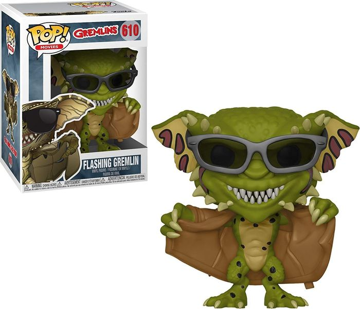 Фигурка Funko POP! Vinyl: Horror: Gremlins 2: Flashing Gremlin 32112 imperfect funko pop second hand horror movies evil dead 2 ash with saw vinyl action figure collectible model toy cheap no box