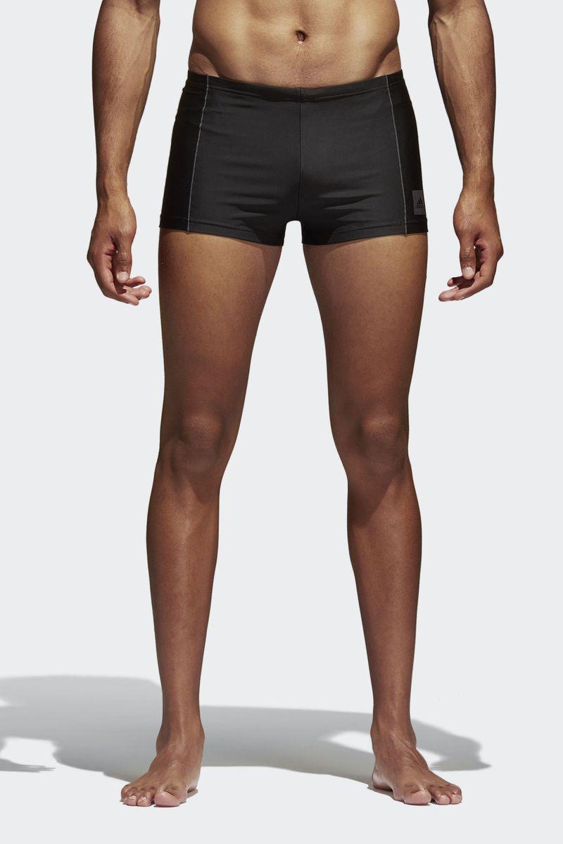 Плавки-шорты мужские Adidas Inf Ecs Bx, цвет: черный. BP5392. Размер 3 (46) шорты для мальчика adidas yb ess m3s wvsh цвет черный ab6025 размер 128