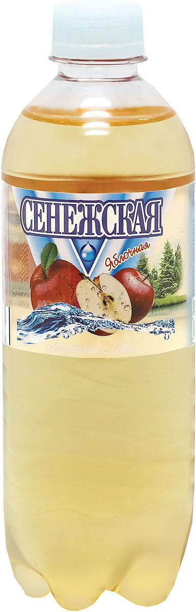 Напиток газированный Сенежская Яблоко, 12 шт по 0,5 л сенежская вода малютка 5 л
