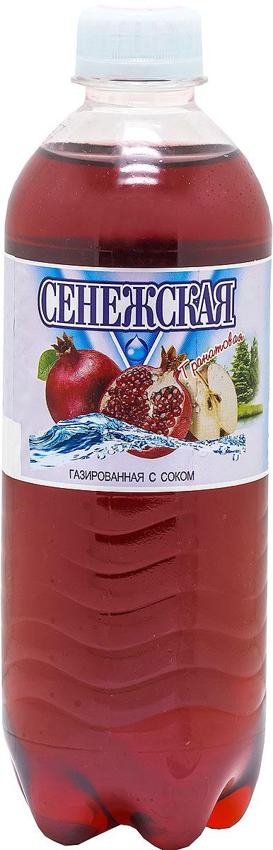 Напиток газированный Сенежская Гранат, 12 шт по 0,5 л сенежская вода малютка 5 л