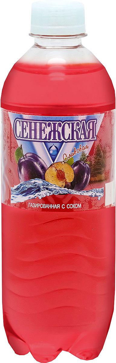 Напиток газированный Сенежская Слива, 12 шт по 0,5 л сенежская вода малютка 5 л