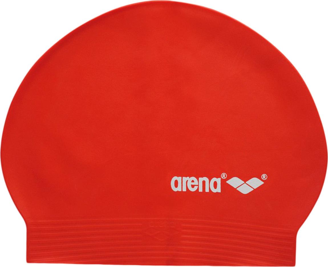 Шапочка для плавания Arena Light Soft Latex, цвет: красный. 91294 51 шапочка для плавания arena polyester  цвет  темно синий