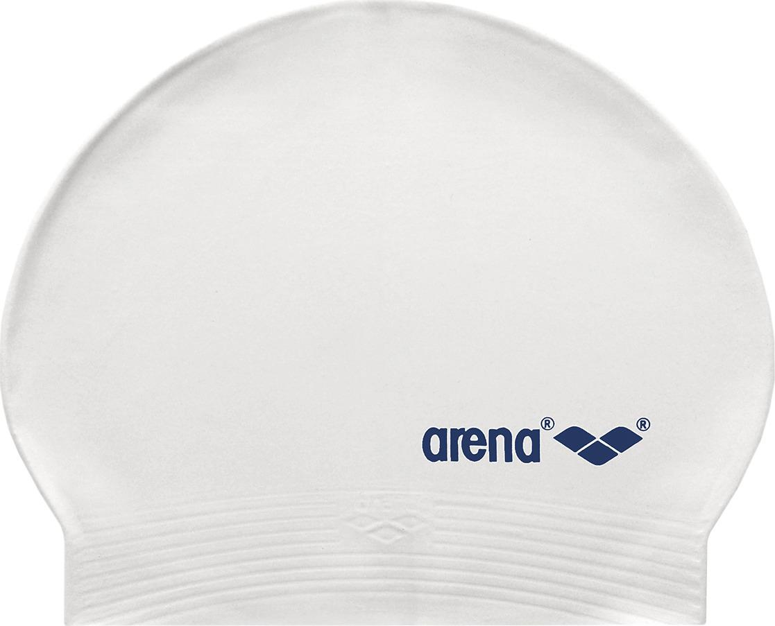 Шапочка для плавания Arena Light Soft Latex, цвет: белый. 91294 019 шапочка для плавания arena polyester  цвет  темно синий