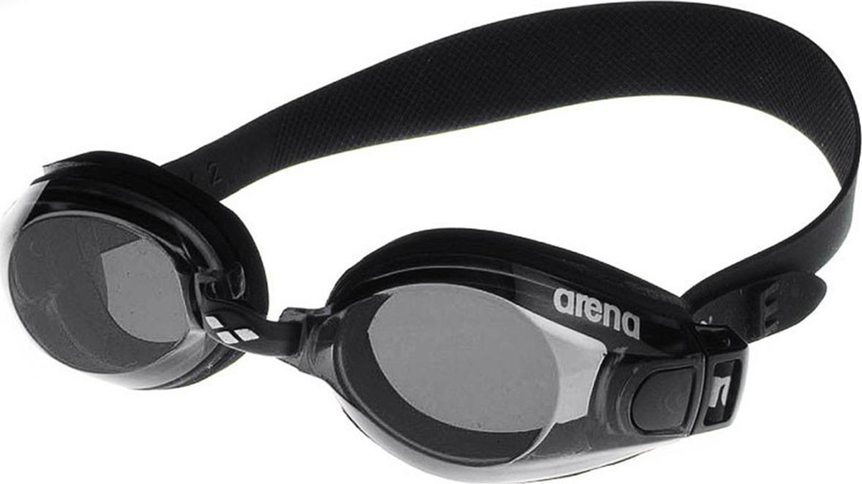 Очки для плавания Arena Zoom Neoprene, цвет: черный, дымчатый. 92279 55 цена