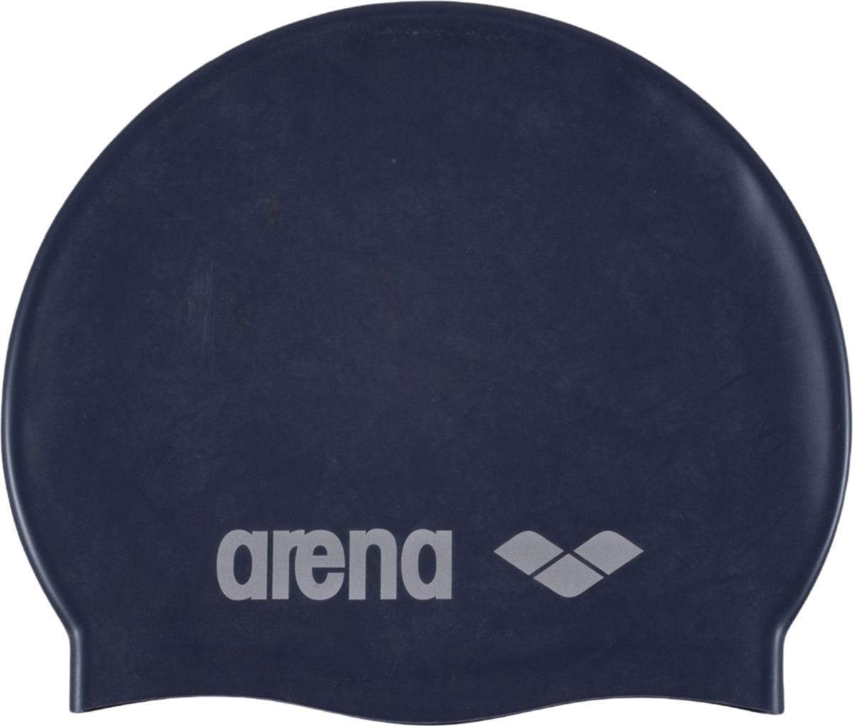 Шапочка для плавания детская Arena Classic Silicone Jr, цвет: деним. 91670 71 шапочка для плавания arena polyester  цвет  темно синий