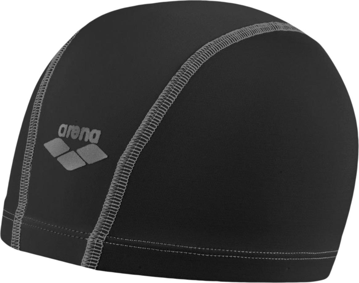 Шапочка для плавания Arena Unix, цвет: черный. 91278 14 шапочка для плавания arena polyester  цвет  темно синий