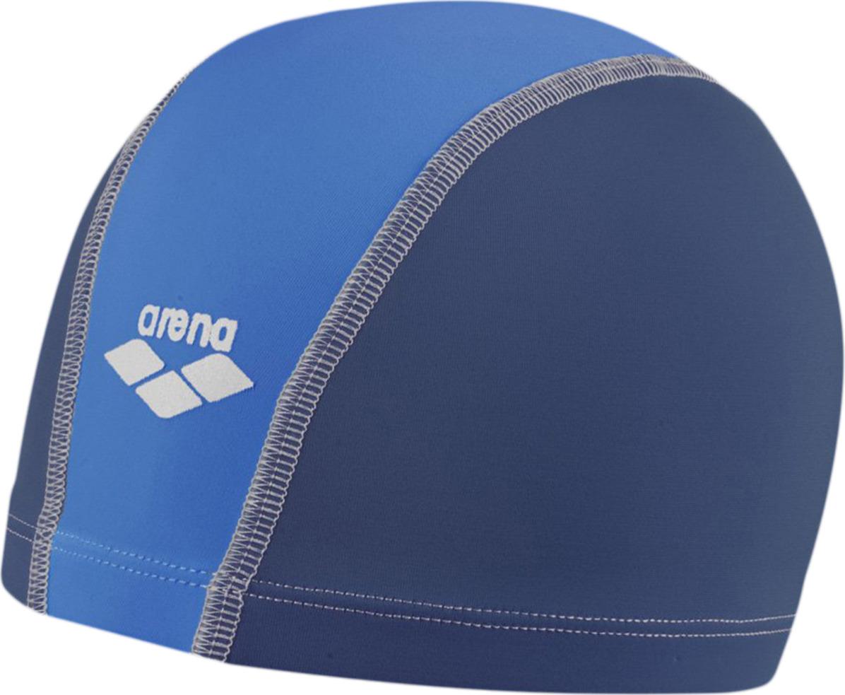 Шапочка для плавания детская Arena Unix Jr, цвет: деним, голубой. 91279 23 шапочка для плавания arena polyester  цвет  темно синий