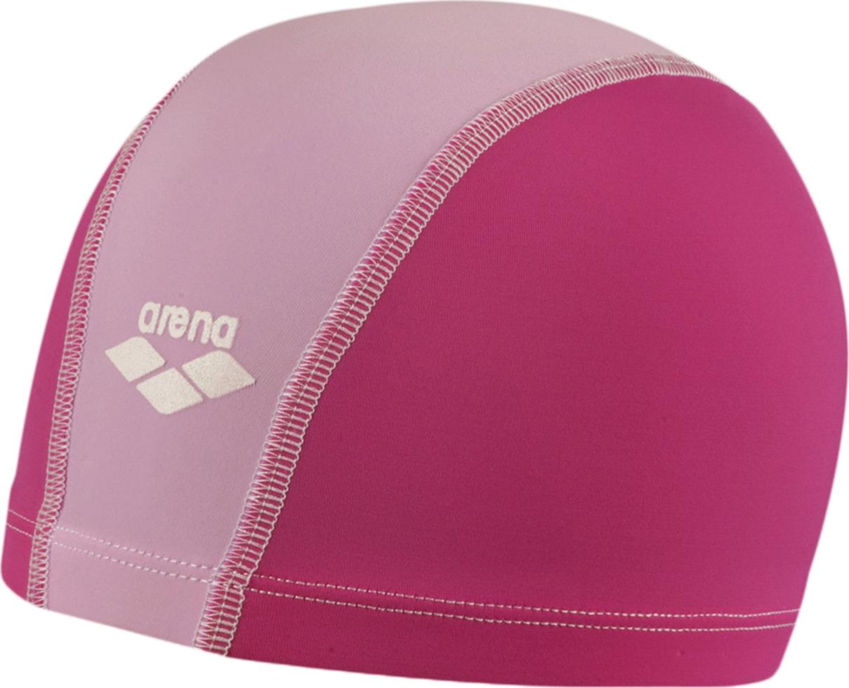 Шапочка для плавания детская Arena Unix Jr, цвет: розовый, белый. 91279 25 шапочка для плавания arena polyester  цвет  темно синий