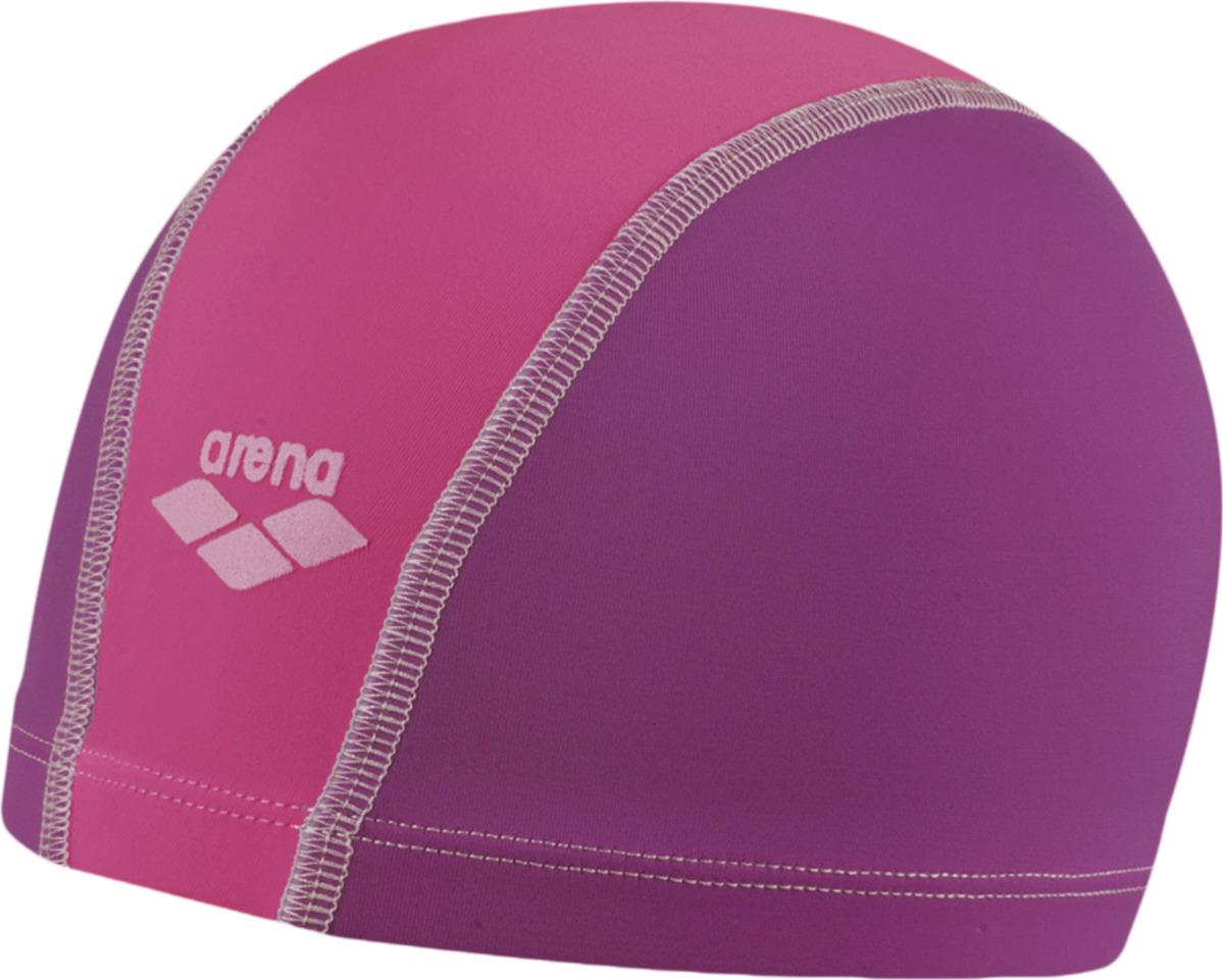 Шапочка для плавания детская Arena Unix Jr, цвет: розовый, фиолетовый. 91279 26