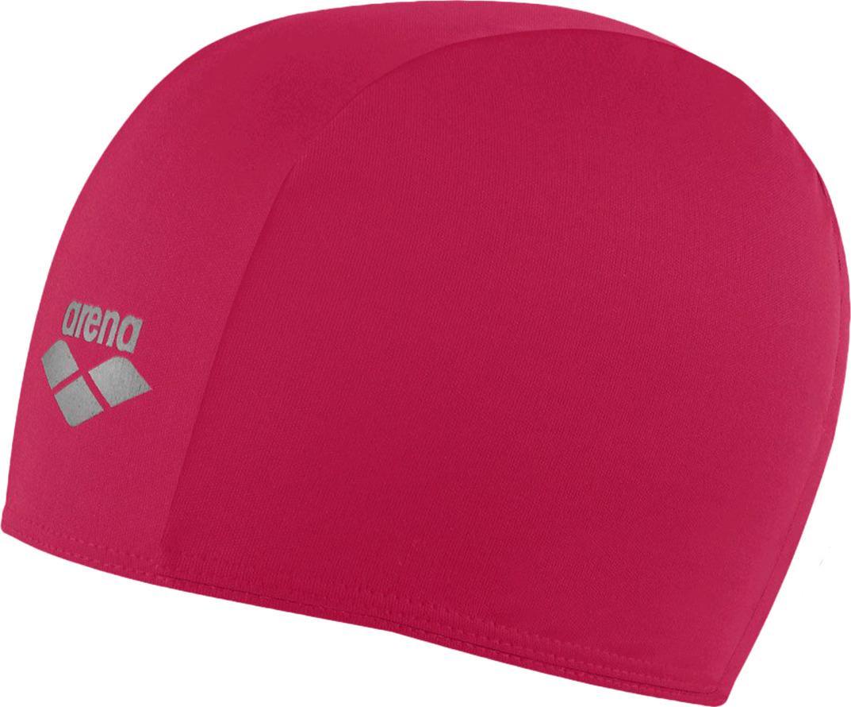 Шапочка для плавания детская Arena Polyester Jr, цвет: малиновый. 91149 99 шапочка для плавания arena polyester  цвет  темно синий