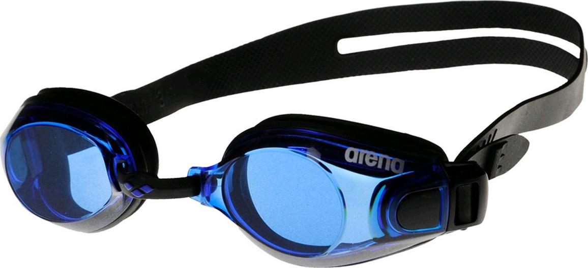 Очки для плавания Arena Zoom X-fit, цвет: черный, синий. 92404 57 цена