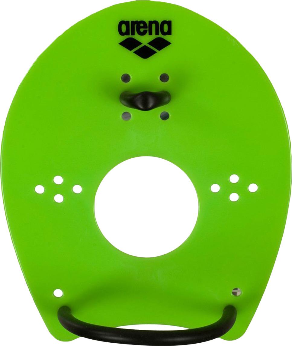 Лопатки для гребли Arena Elite Hand Paddle, цвет:  зеленый, черный.  Размер M.  95250 65 Arena