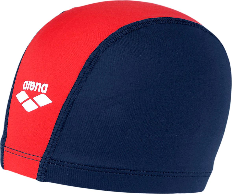 Шапочка для плавания детская Arena Unix Jr, цвет: деним, красный. 91279 94 шапочка для плавания arena polyester junior черный