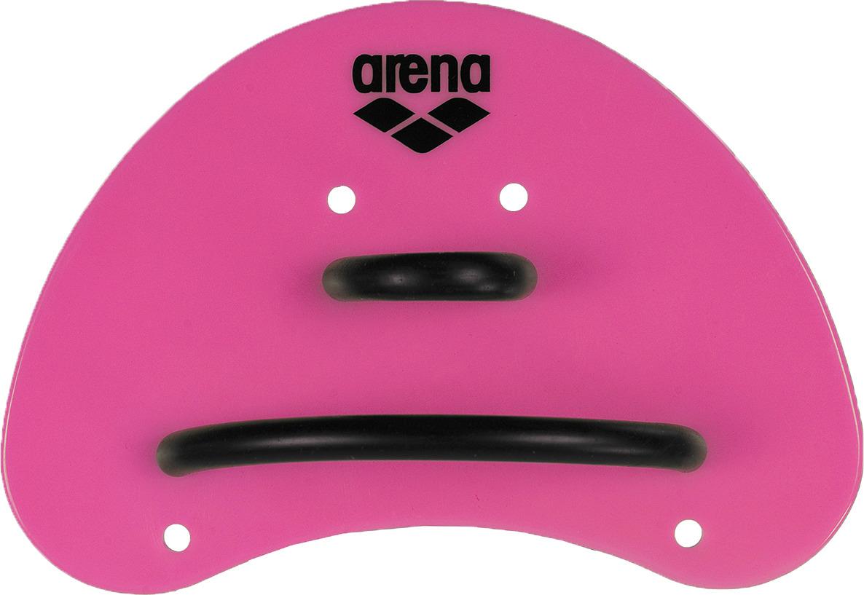 Лопатки для гребли Arena Elite Finger Paddle, цвет: розовый, черный. Размер S. 95251 95