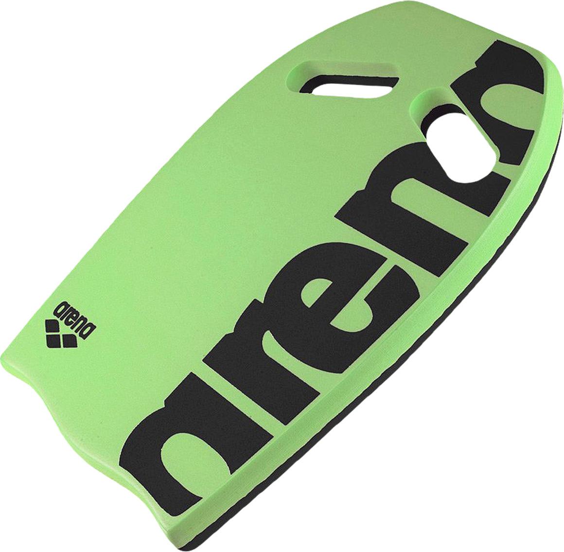 Доска для плавания Arena Kickboard, цвет: зеленый. 95275 60 шапочка для плавания arena polyester  цвет  темно синий