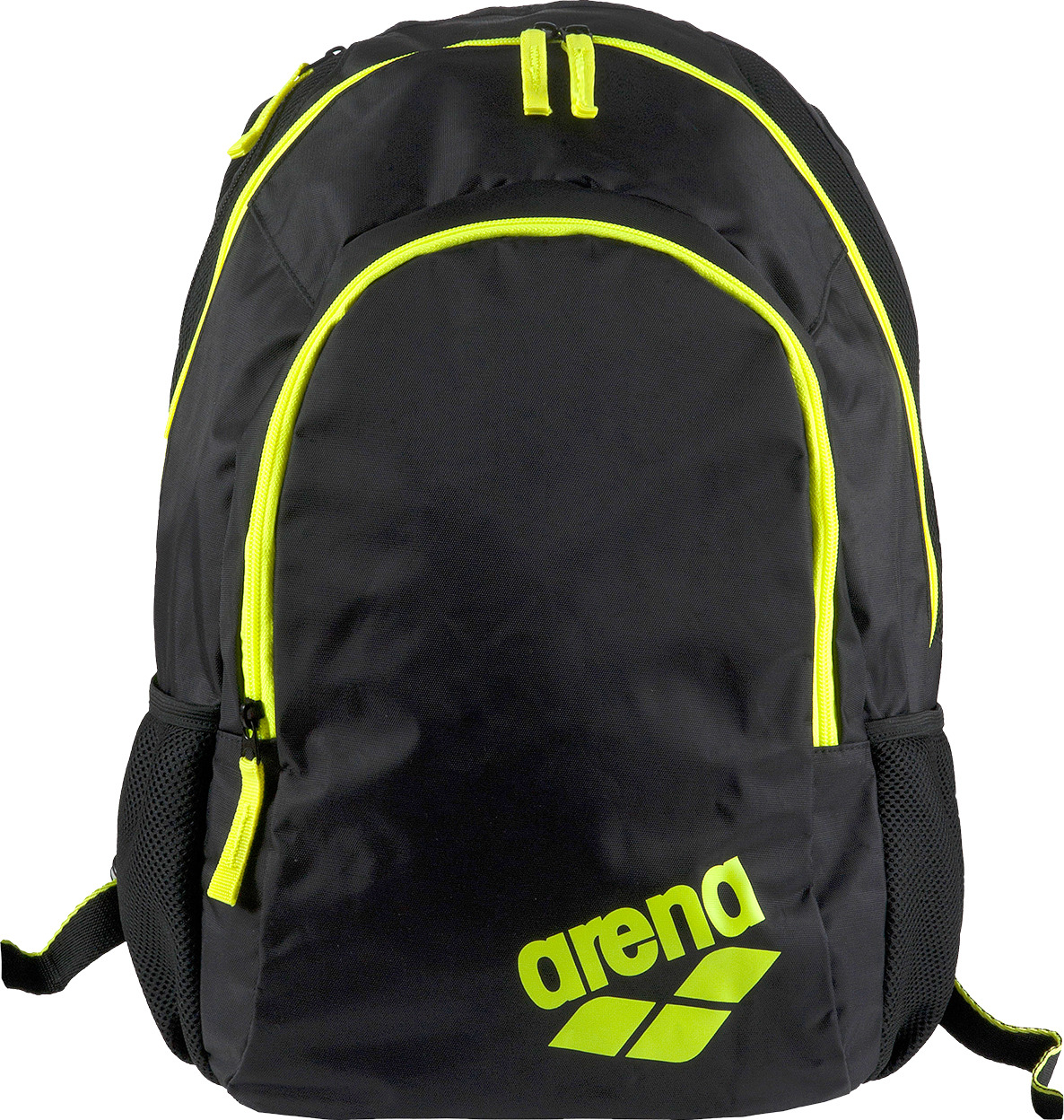 Рюкзак спортивный Arena Spiky 2, цвет: черный, желтый, 30 л. 1E005 53