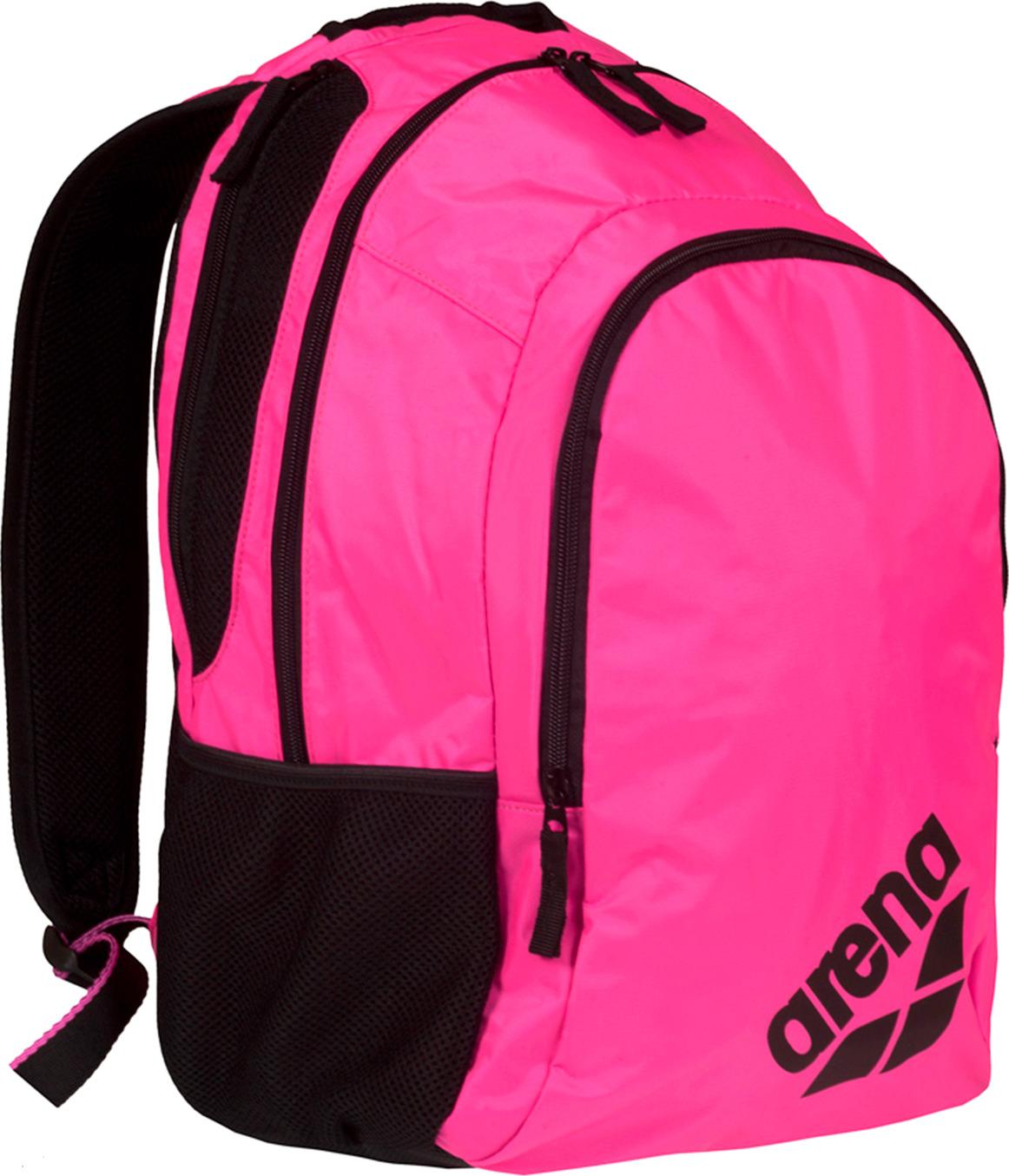 Рюкзак спортивный Arena Spiky 2, цвет: розовый, черный, 30 л. 1E005 59
