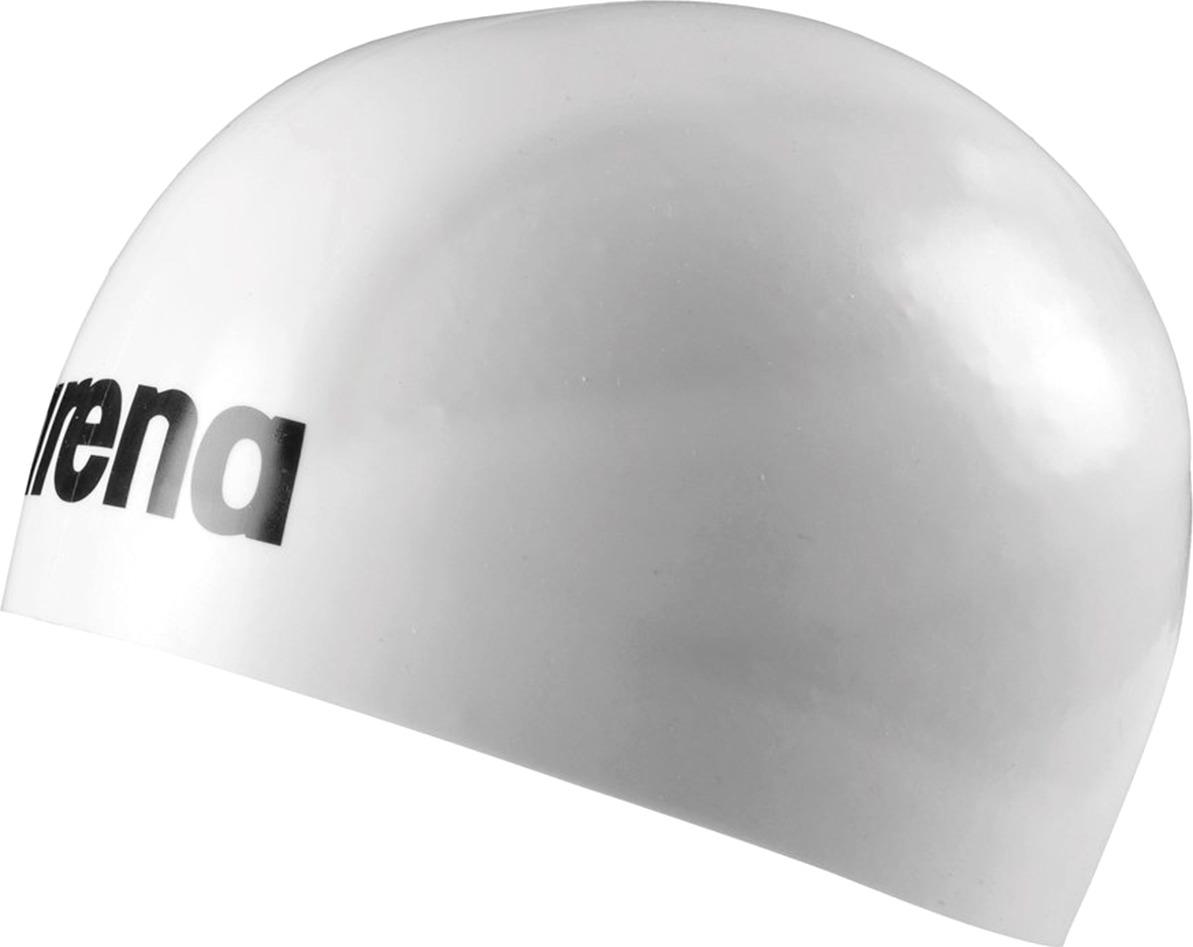 Шапочка для плавания Arena 3D Ultra, цвет: белый, черный. 91656 15 L шапочки и чепчики jollein вязаная шапочка soft knit