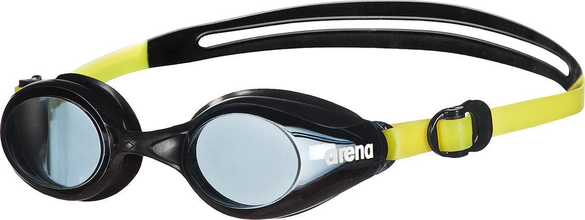 """Очки Arena Sprint Jr- очки для тренировок всех видов плавания и для активного отдыха. Расширенный боковой обзор. Комфортны в ношении и просты в использовании. Легко регулируются и сидят как влитые благодаря скользящим боковым клипсам и двойному силиконовому ремешку. Жесткие ударопрочные линзы из поликарбоната обеспечивают четкий, неискаженный вид под водой. Запотевание линз минимизирует система """"анти-туман"""". Саморегулирующаяся переносица. 100% защита от УФ-лучей."""