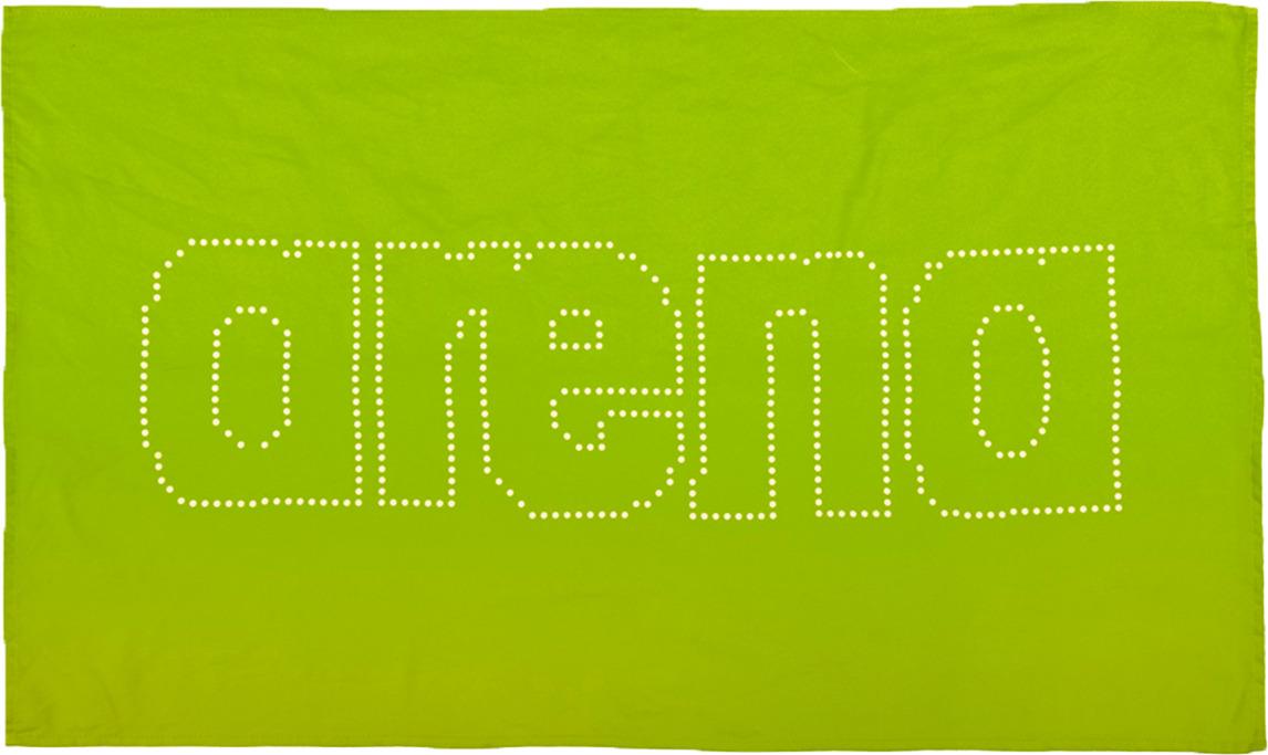 Полотенце Arena Haiti, цвет:  зеленый, белый, 60 х 100 см.  2A489 601 Arena