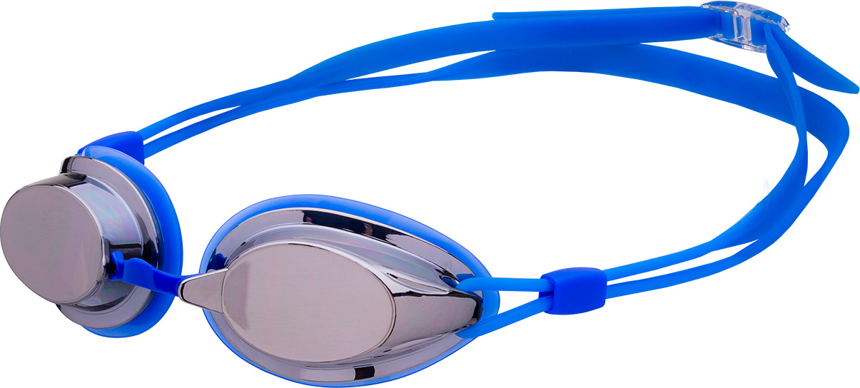 Очки для плавания Longsail Spirit Mirror, цвет: синий. L031555 trendy gothic emboss cross alloy pendant necklace for men