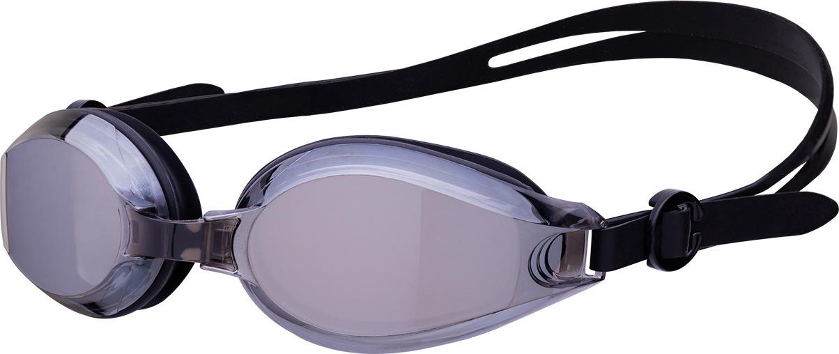 Взрослые плавательные очки с зеркальными линзами и тремя сменными носовыми дужками. Обработаны антизапотевающим составом (anti-fog) UV-фильтр на линзах  Упаковка: прозрачный пластиковый брендированный футляр с подвесом
