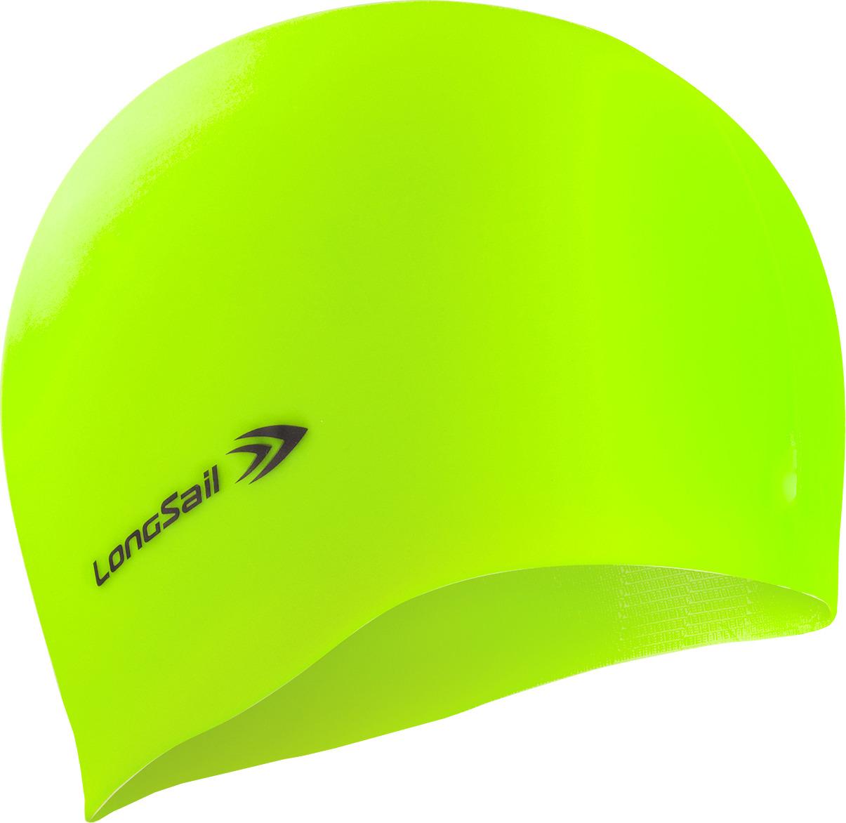 Шапочка для плавания LongSail, цвет: зеленый. 1/240 рио выигрывает toswim созвездие шапочки для плавания шапочки для плавания ts61401246 персонализированных тенденций моды плавания весов