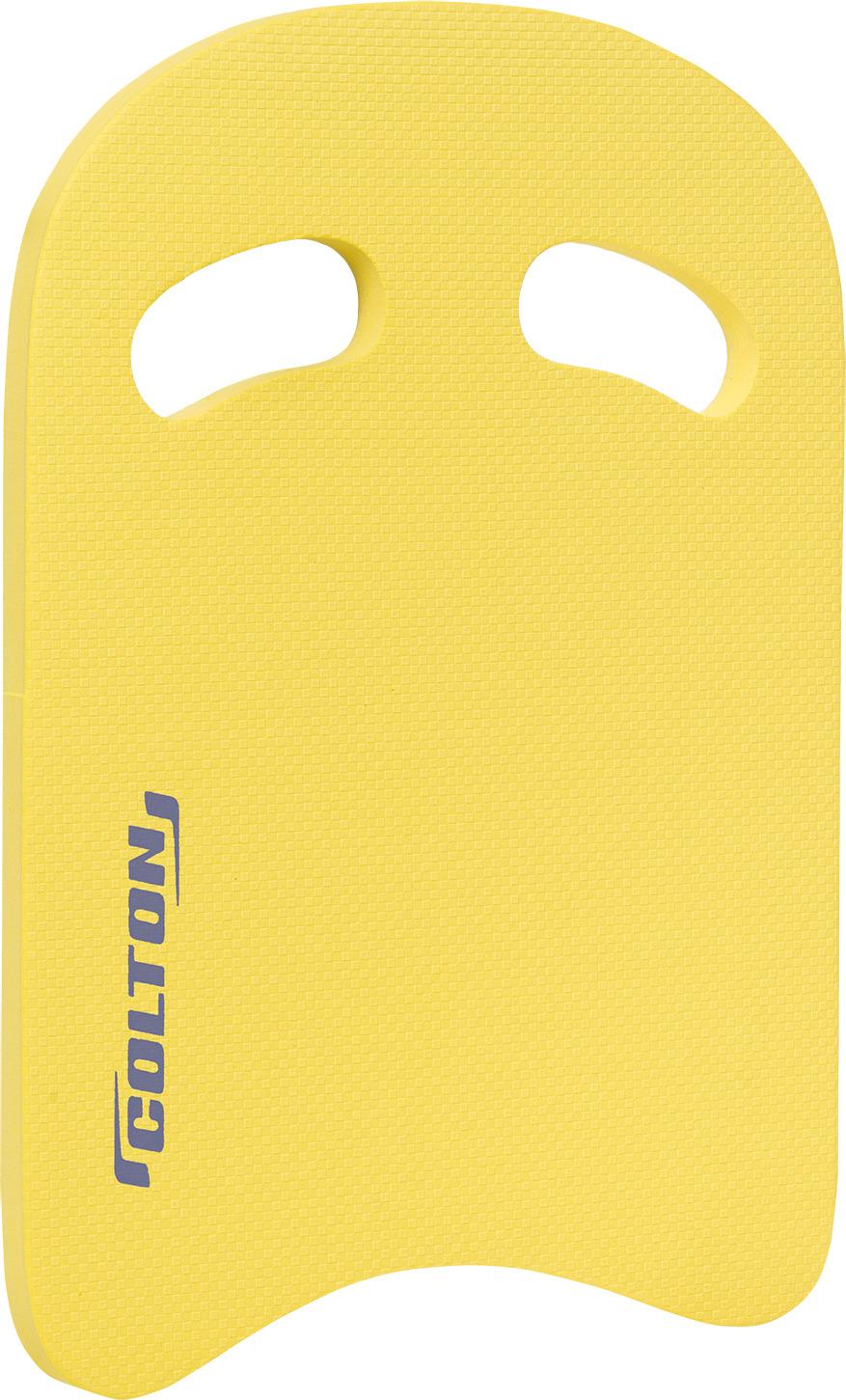 Доска для плавания Colton, цвет: желтый. SB-101