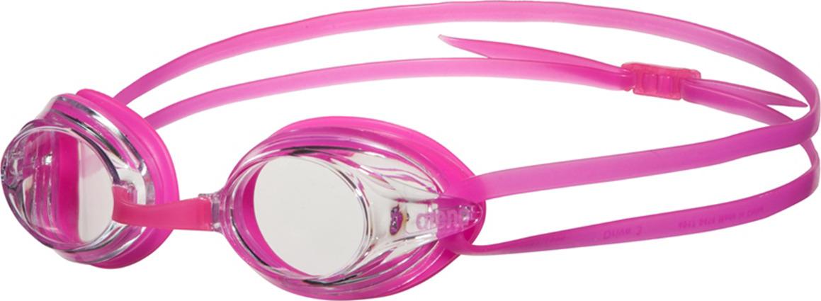 Очки для плавания Arena Drive 3, цвет: розовый, прозрачный. 1E035 91 sisjuly золото классические очки
