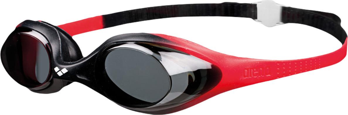 Очки для плавания детские Arena Spider Jr, цвет: красный, черный, дымчатый. 92338 54 цена