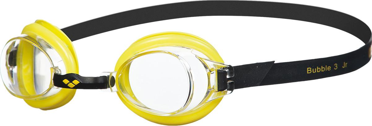 Очки для плавания детские Arena Bubble 3 Jr, цвет: желтый, черный. 92395 35 очки для плавания speedo rift junior детские 8 012138434