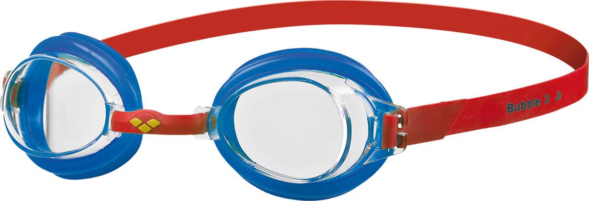 Очки для плавания детские Arena Bubble 3 Jr, цвет: красный, голубой. 92395 56 очки для плавания speedo rift junior детские 8 012138434