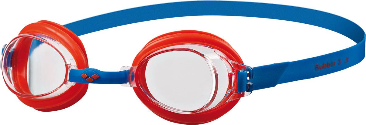 Очки для плавания детские Arena Bubble 3 Jr, цвет: синий, красный. 92395 74 очки для плавания speedo rift junior детские 8 012138434