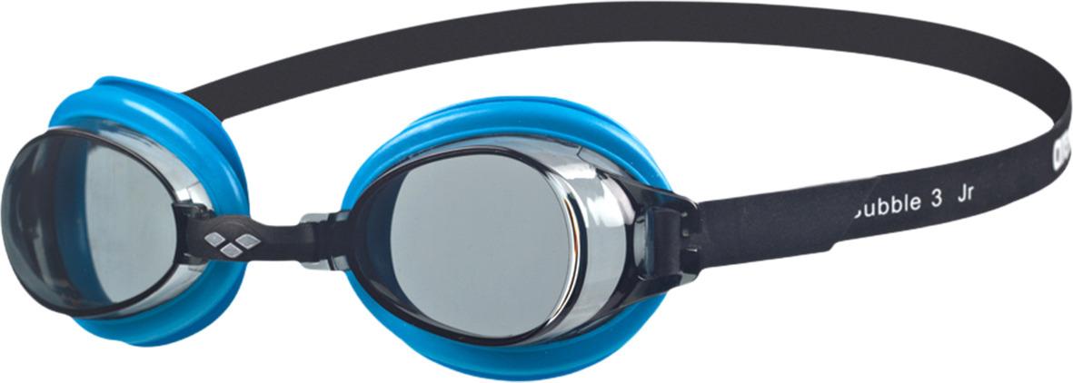 Очки для плавания детские Arena Bubble 3 Jr, цвет: дымчатый, синий. 92395 75 sisjuly золото классические очки