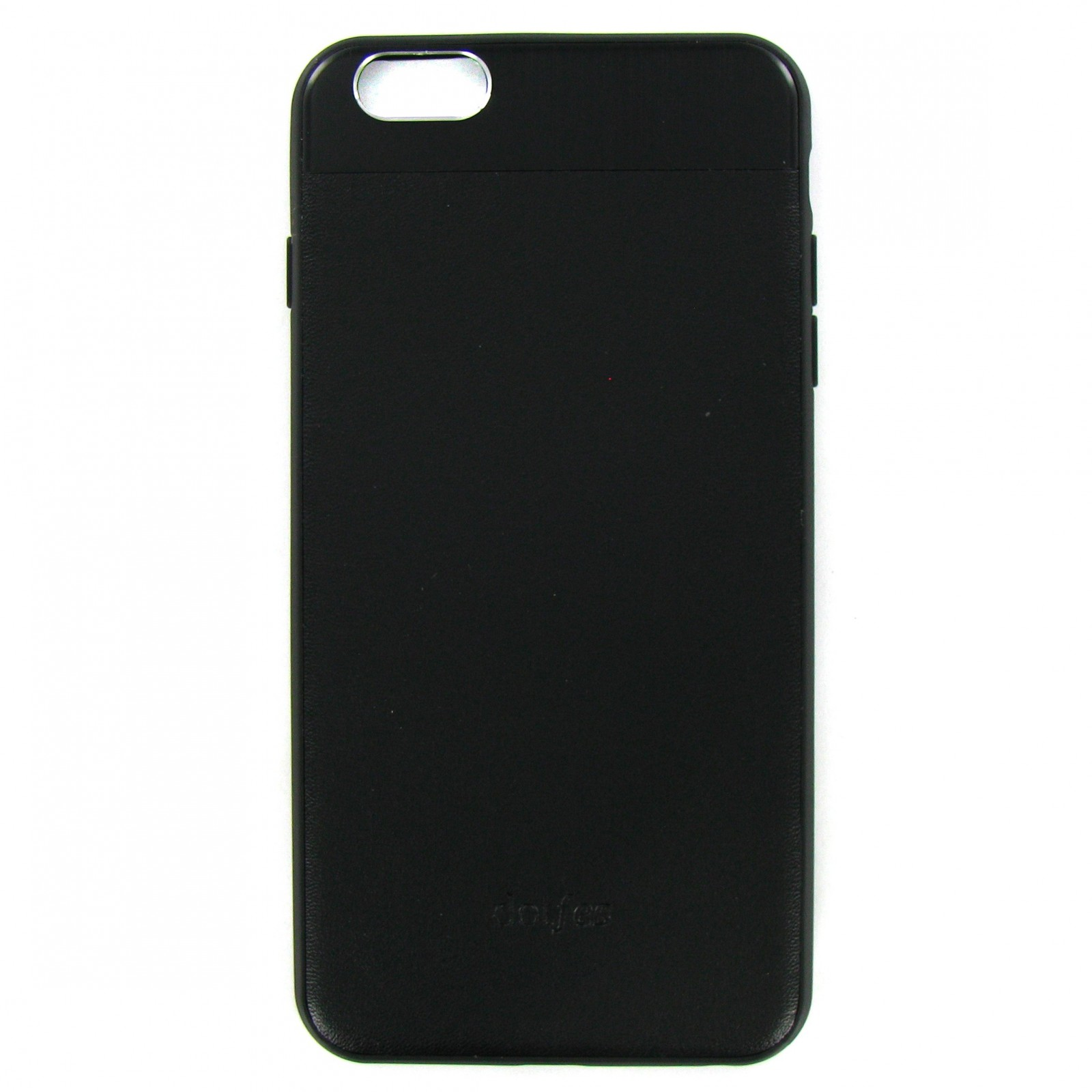 Накладка Dotfes G03 Aluminium Alloy Nappa leather Case для iPhone 6 Plus/6s Plus, black