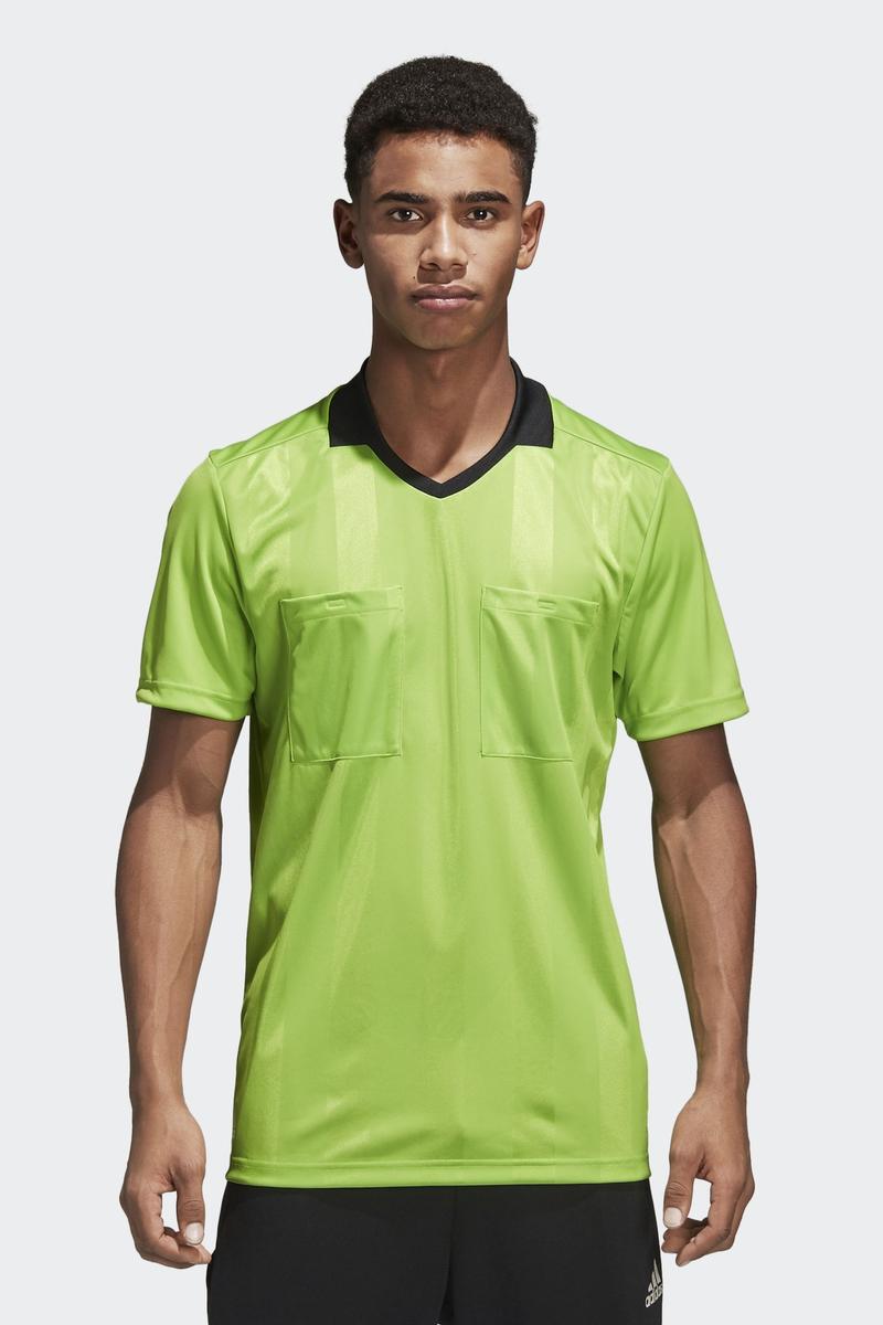 Футболка мужская Adidas Ref18 Jsy, цвет: зеленый. CV6312. Размер 3XL (64/66) футболка мужская adidas regista 18 jsy цвет синий белый ce8965 размер m 48 50
