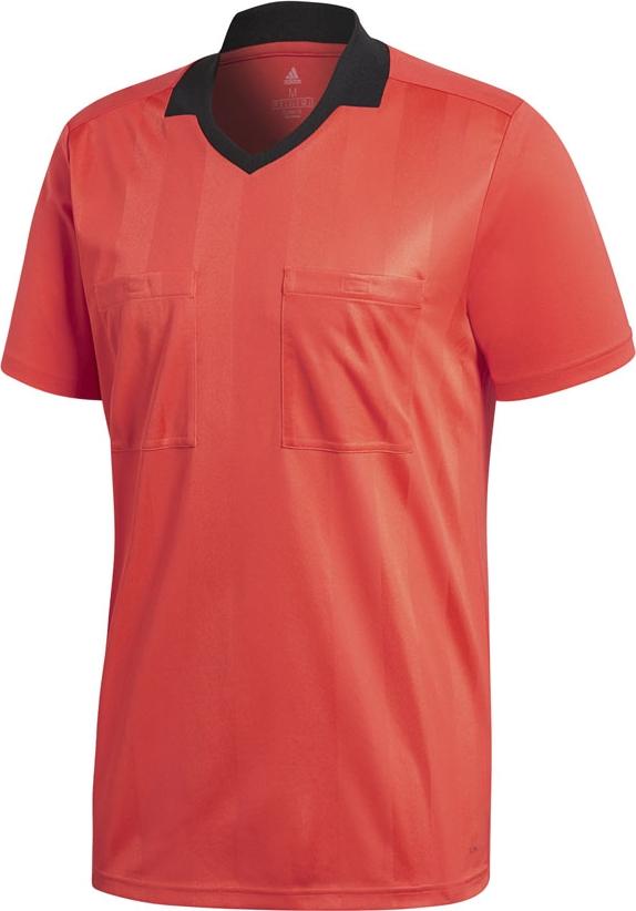 Футболка мужская Adidas Ref18 Jsy, цвет: красный. CV6310. Размер 3XL (64/66) футболка мужская adidas regista 18 jsy цвет синий белый ce8965 размер m 48 50