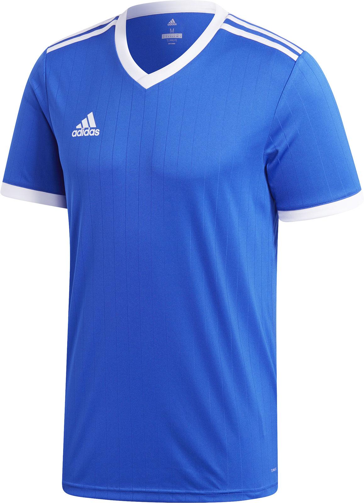 Футболка мужская Adidas Tabela 18 Jsy, цвет: голубой. CE8936. Размер XXL (60/62) толстовка мужская adidas regi18 tr top цвет черный cz8647 размер xxl 60 62