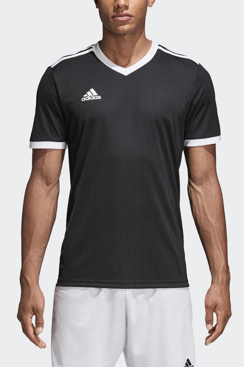 Футболка мужская Adidas Tabela 18 Jsy, цвет: белый. CE8934. Размер XXL (60/62) футболка мужская adidas regista 18 jsy цвет синий белый ce8965 размер m 48 50