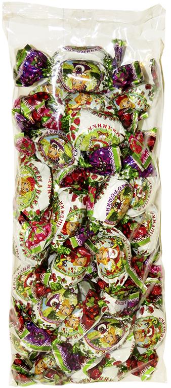 Конфеты Кремлинка Ассорти, смородинка малинка вишенка, 1 кг delphi томаты очищ��нные в собственном соку 800 г