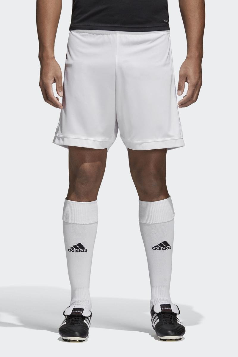 Шорты мужские Adidas Squad 17 Sho, цвет: белый. BJ9228. Размер 3XL (64/66) шорты мужские adidas sn dual sho m цвет черный bq7245 размер xl 56 58