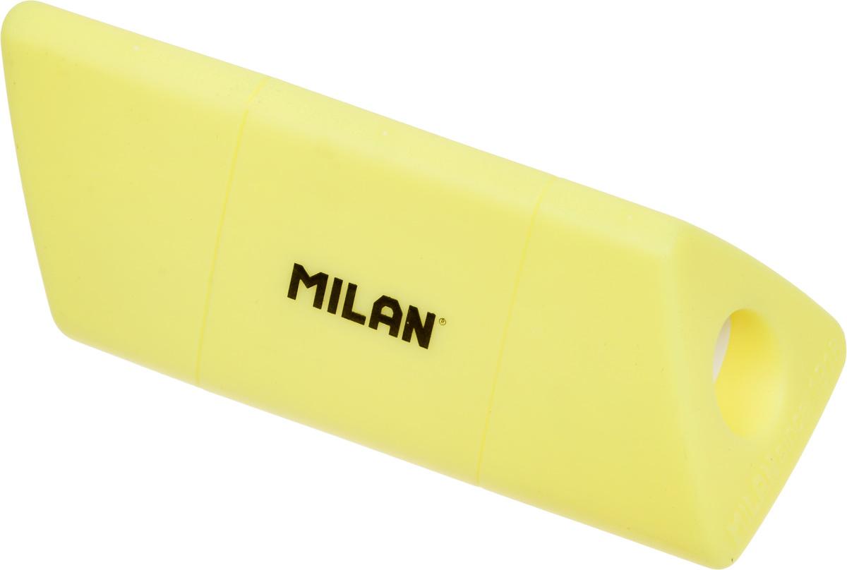 Точилка Milan Slide, с контейнером, цвет: желтый t rex 13025 polarized uv400 polarized resin lens goggles for driving black