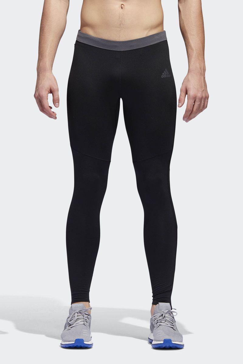 Тайтсы мужские Adidas Rs Cw Tight M, цвет: черный. BS4690. Размер XXL (60/62) пуховик мужской adidas helionic ho jkt цвет темно синий bq1998 размер xxl 60 62