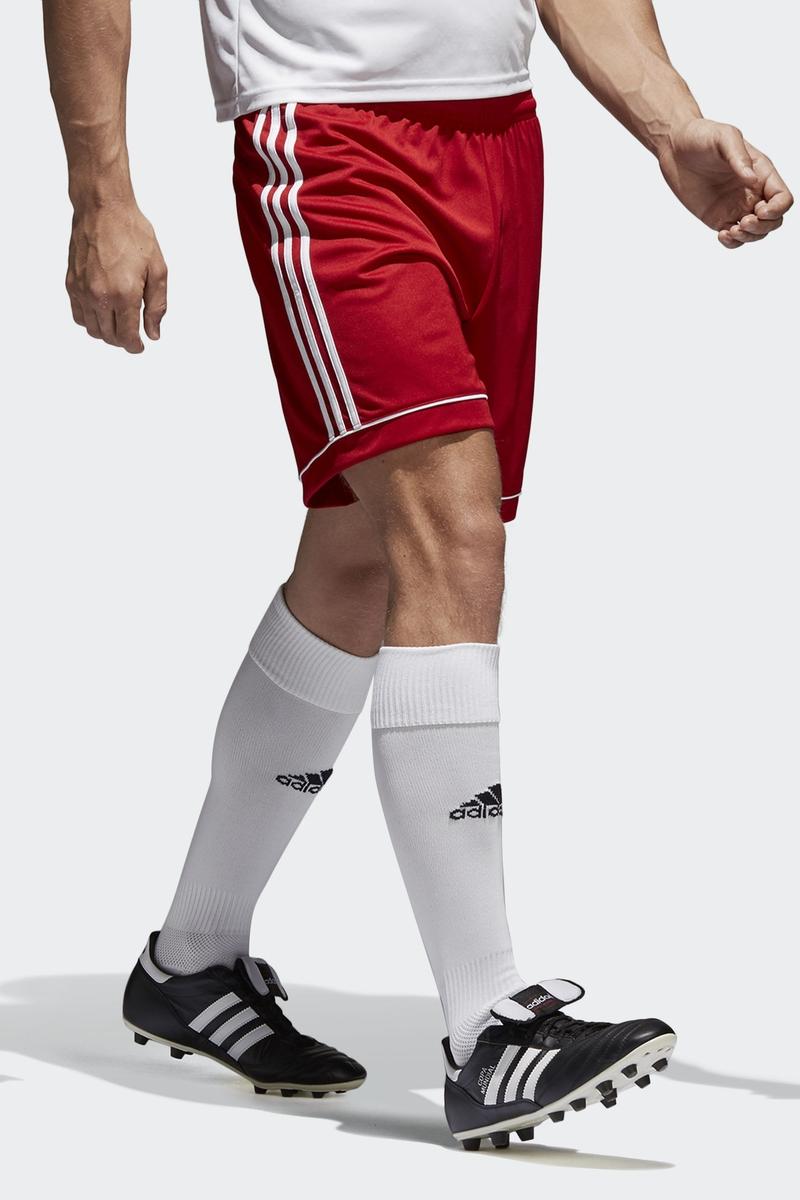 Шорты мужские Adidas Squad 17 Sho, цвет: красный. BJ9226. Размер XL (56/58) шорты мужские adidas sn dual sho m цвет черный bq7245 размер xl 56 58