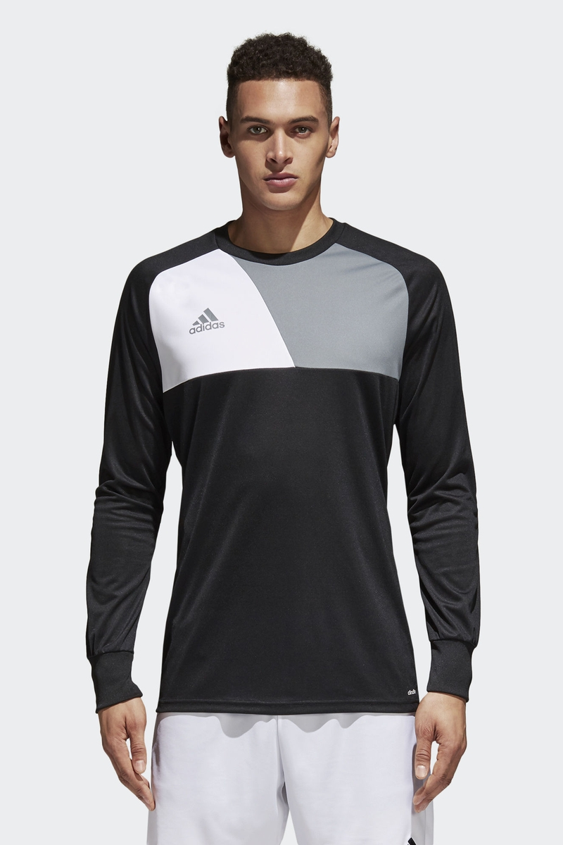 Футболка мужская Adidas Assita 17 Gk, цвет: черный. AZ5401. Размер XXL (60/62) футболка мужская adidas freelift ak цвет зеленый bk6105 размер xxl 60 62