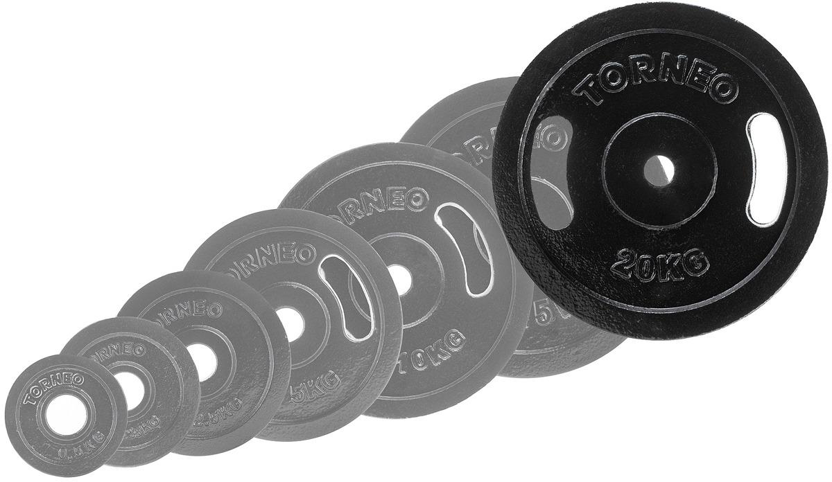 Диск для штанги Torneo, 20 кг. 1022-200 torneo фрисби torneo flying sun