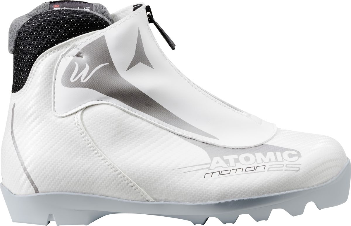 Ботинки лыжные женские Atomic Motion 25 Wn, цвет: белый. Размер 7 (40,5) ботинки лыжные larsen technic thinsulate nnn
